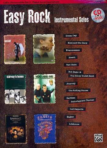 - Easy Rock (+CD) : for cello and piano