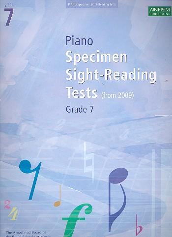 - Specimen Sight-Reading Tests Grade 7 :