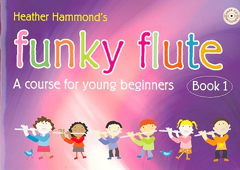 Hammond, Heather - Funky Flute vol.1 (+CD) : for flute