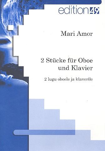 2 Stücke: für Oboe und Klavier