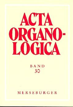 Acta organologica: Band 30