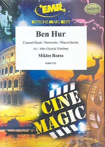Ben Hur: für Blasorchester Partitur+Stimmen