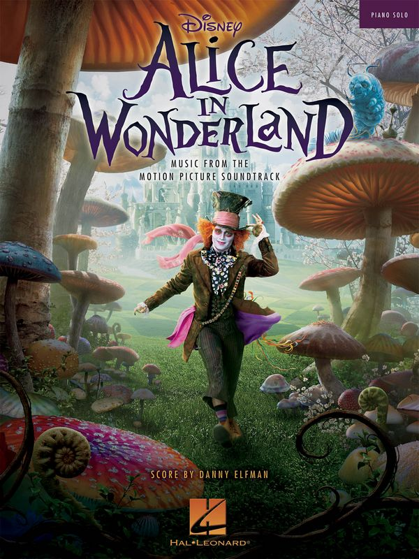 Alice in Wonderland (Film 2010): for piano solo