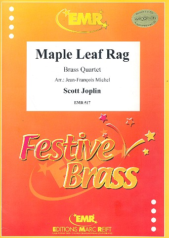 Maple Leaf Rag: for 2 trumpets, horn (trombone) and trombone