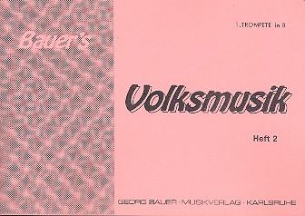 Bauers Volksmusik Band 2: für Blasorchester