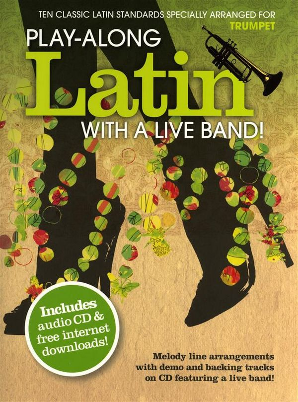 Playalong Latin with Live Band (+CD): for trumpet