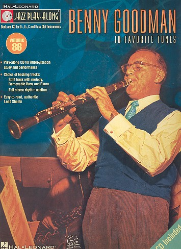 Benny Goodman - 10 favorite Tunes (+CD): for C, Bb, Eb and bass clef instruments