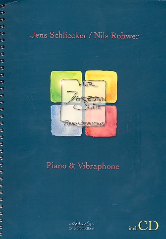 Four Seasons (+CD): vibraphone and piano