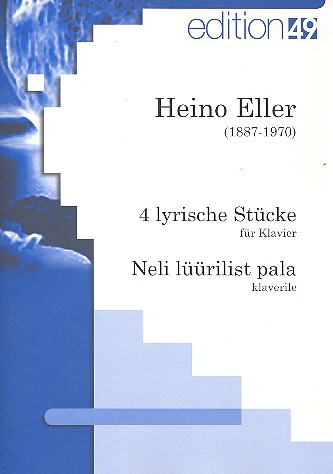 4 lyrische Stücke: für Klavier