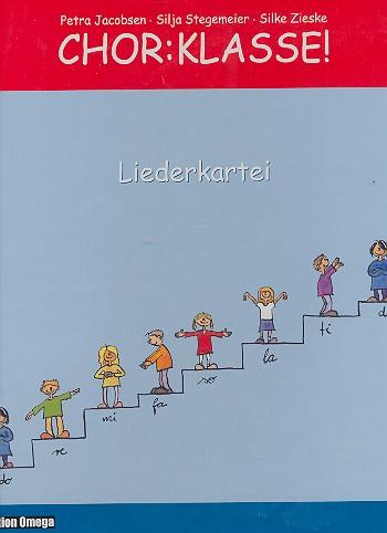 Chor - Klasse: Liederkartei zum Medienpaket für Grundschulklassen