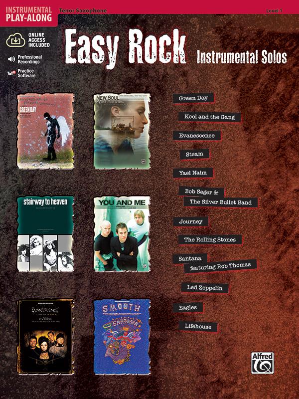 - Easy Rock Instrumental Solos (+CD) :