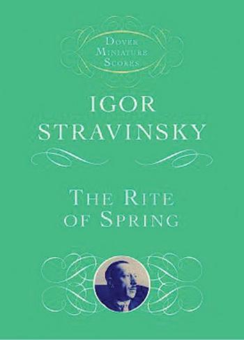 Le sacre du printemps: for orchestra study score