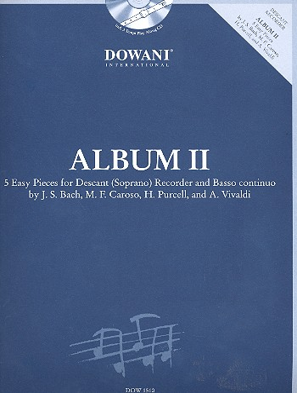 - Album Band 2 (+CD) : für Sopranblockflöte