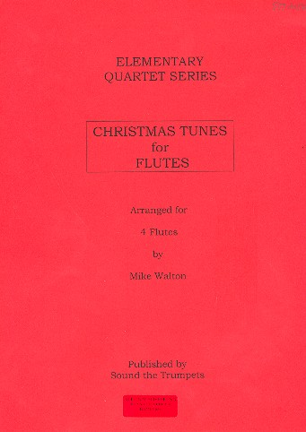 Christmas Tunes: for 4 flutes score and parts