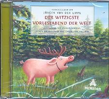 Der witzigste Vorleseabend der Welt: 2 Hörbuch-CD\