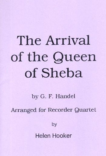 Händel, Georg Friedrich - The Arrival of the Queen of Sheba :