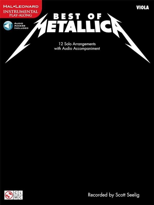 Best of Metallica (+CD): for viola