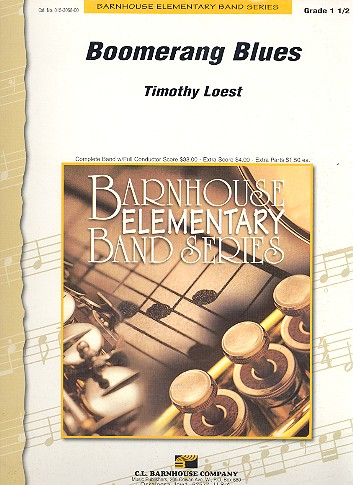 Boomerang Blues: for concert band