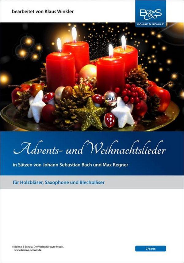 Advents- und Weihnachtslieder: für 4-stimmiges Bläserensemble