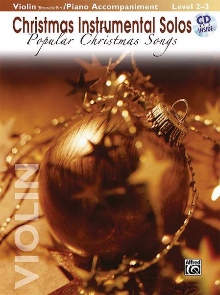 Popular Christmas Songs (+CD): for violin and piano