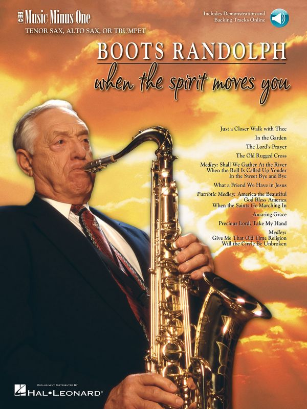 Boots Randolph - When the Spirit moves You (+CD): for saxophone (trumpet)