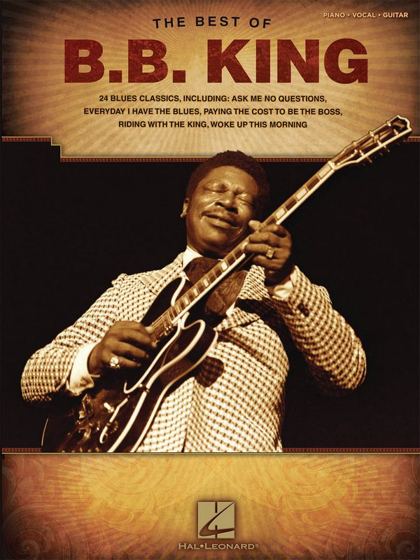 The Best of B.B. King songbook piano/vocal/guitar