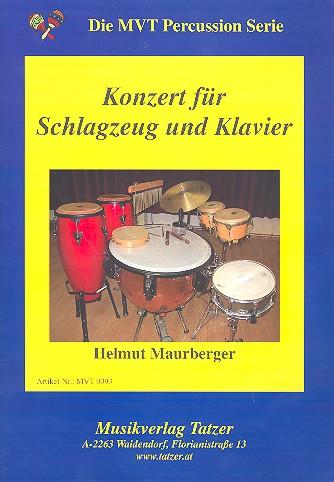 Konzert (+CD): für Schlagzeug und Klavier