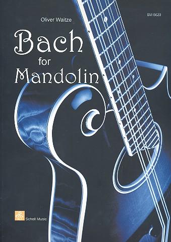 Bach, Johann Sebastian - Bach : for mandolin/tab