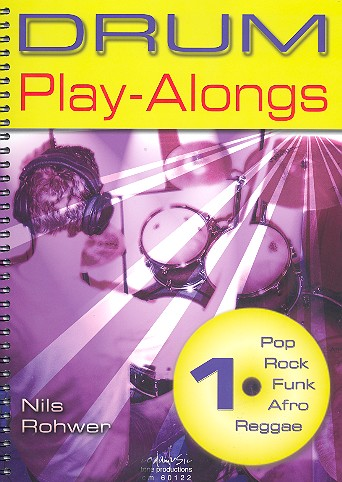 Rohwer, Nils - Drum Playalongs Band 1 (+CD) :