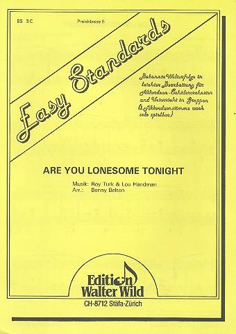 Are you lonesome tonight: für 1-2 Akkordeons