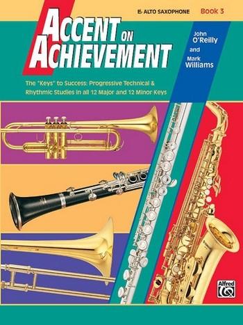 Accent on Achievement vol.3: for band alto saxophone