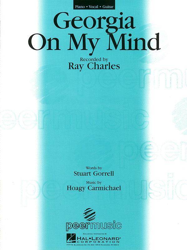 Giorgia on my Mind: for piano/vocal/guitar