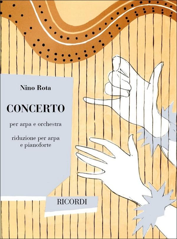 Konzert: für Harfe und Orchester: für Harfe und Klavier
