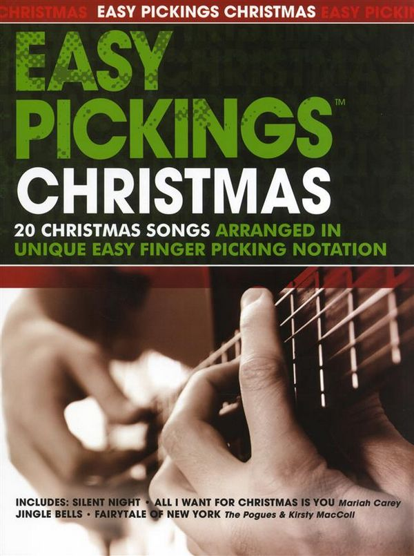 Easy Picking Christmas: for guitar in tablature
