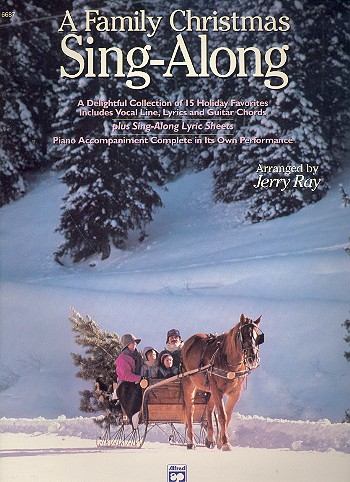 A Family Christmas Singalong: songbook piano/vocal/guitar