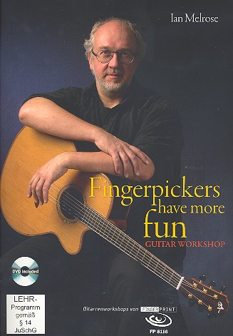 Fingerpickers have more Fun (+DVD): for guitar/tab