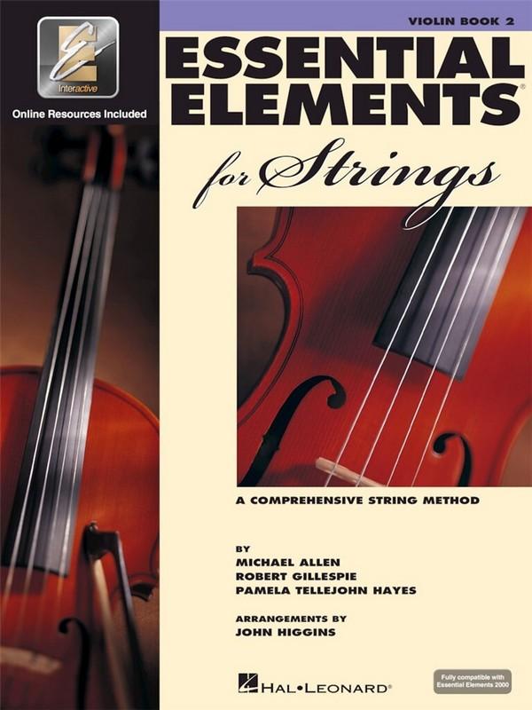 - Essential Elements 2000 vol.2 (+online recources) :