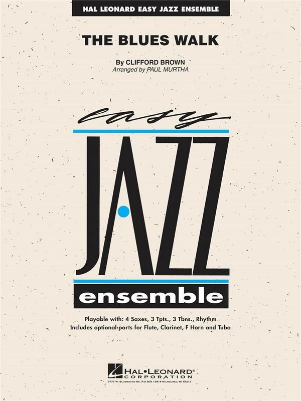 The Blues Walk: for jazz ensemble score and psrts