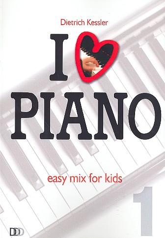 I love Piano Band 1: für Klavier