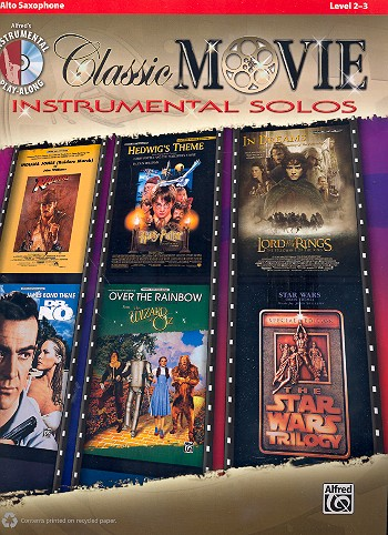 Classic Movie Instrumental Solos (+CD): for alto saxophone