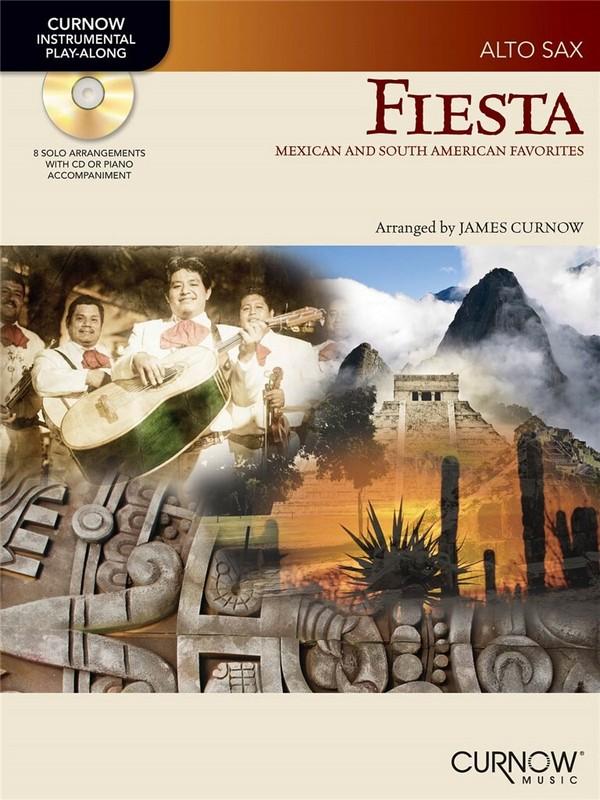 Fiesta (+CD): for alto saxophone