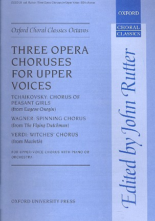 3 Opera Choruses: for female chorus and orchestra