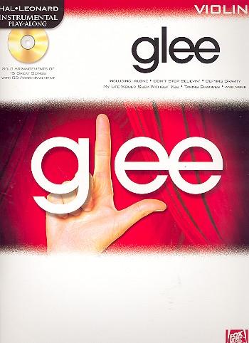 Glee (+CD): for violin