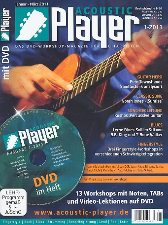 Acoustic Player 1/2011 (+DVD)