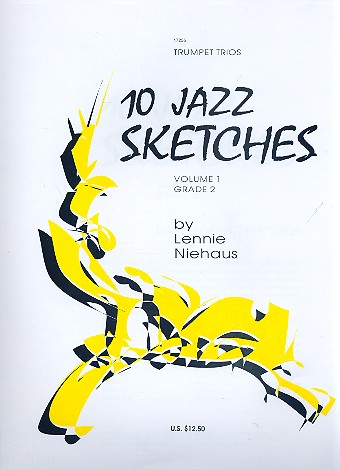 10 Jazz Sketches vol.1: for 3 trumpets score