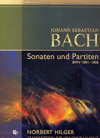 Bach, Johann Sebastian - 6 Sonaten und Partiten BWV1001-1006 :