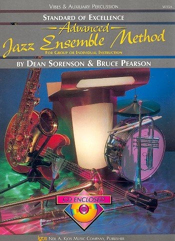 Advanced Jazz Ensemble Method (+CD): vibes and auxiliary percussion