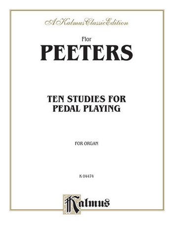 10 Studies for Pedal Playing: for organ