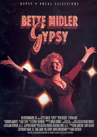 Bette Midler - Gypsy: vocal selections songbook piano/vocal/guitar