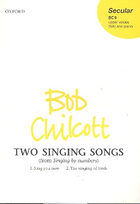 2 singing Songs: for female chorus and piano score